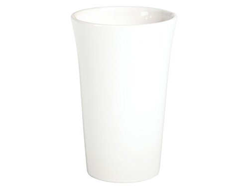 meindekoartikel Vase BRUG Weiss aus Keramik Verschiedene Größen (Ø 16 cm x Höhe 25 cm)