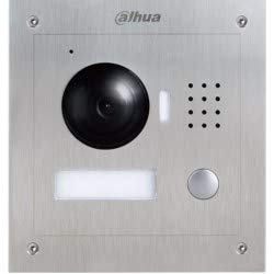 """Dahua Technology DHI-VTO2000A-2 Residential Outdoor Intercom Station, 1/3"""" 1.3 MP CMOS Imager, Wide-Angle View, Night Vision, Voice Indication, Remote Unlock, Group Call,RJ45 Connection"""