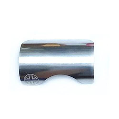 unknows ETSK Lega di Alluminio Telaio Della Bicicletta Protector per Brompton Pieghevole Bici Fondo Staffa BB Sticker Protezione Pad