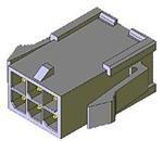 MOLEX 43020-0201 PLUG & SOCKET CONNECTOR, PLUG, 2POS, 3MM (10 pieces)