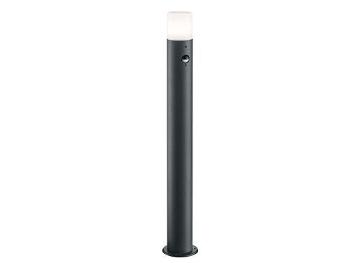 LED Außenwegeleuchte mit Bewegungsmelder in Anthrazit Pollerleuchte Höhe 80cm IP44 - vielseitige Außenbeleuchtung für Haus und Terrasse