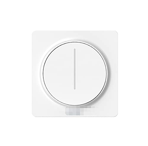 CML Nuevo WiFi Smart Rotary/Touch Light Dimmer Switch Smart Life/Tuya Aplicación Control Remoto Works with Alexa Google Voice Assistants UE (Color : Touch)