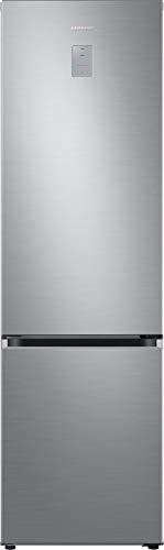Samsung RL38T775CS9/EG Kühl-/Gefrierkombination / 203 cm Höhe / 385 Liter / A+++ / Premium Edelstahl Look / No Frost+ / Space Max / Metal Cooling