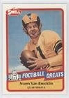 Norm Van Brocklin (Football Card) 1989 Swell Football Greats - [Base] #41