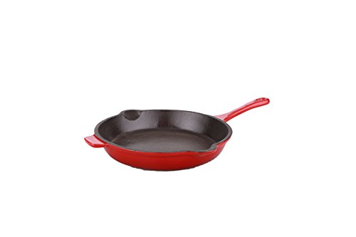 "Berghoff Neo 10"" Cast Iron Frying Pan, Red"