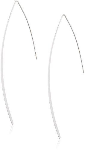 Pilgrim Pendientes de hilo Mujer chapado en plata - 281746013