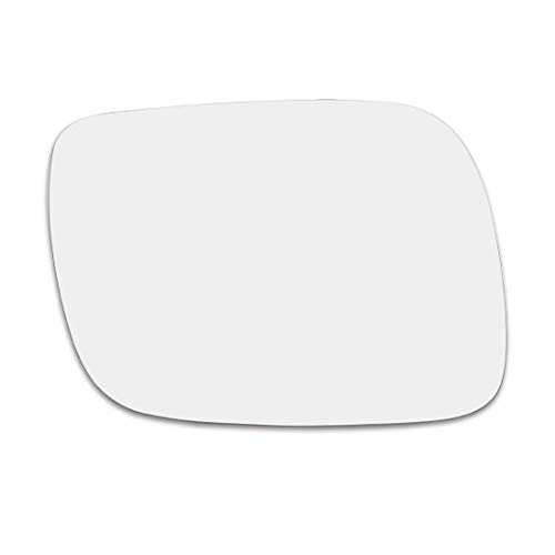 X AUTOHAUX Car Passenger Right Rearview Mirror Glass Heated with Backing Plate for Volkswagen Touareg 2004-2006