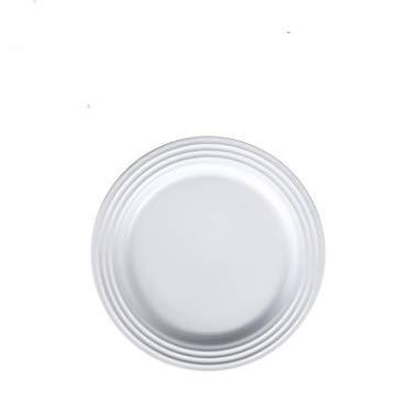 Imagine servies voor Japanse borden, eenkleurig, keramische servies voor westernborden, borden voor hotels, snacks 8.5 pollici Piatto Piano Anello Annuale Bianco