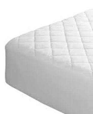 The Bettersleep Company Caravan Mattress Protector Quilted Cotton Blend...