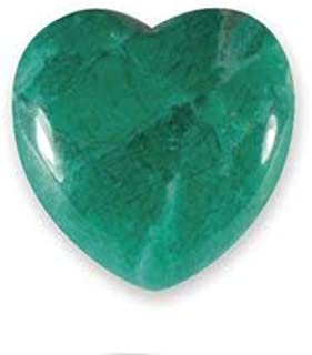 Malaquita Howlite - Mini corazón de cristal (2,5 cm)