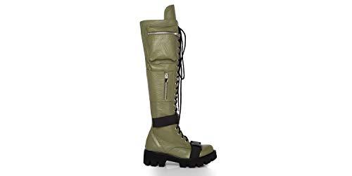 Joyas - Stiefel für Damen - Boot Camp 2.0 - Handgefertigt aus Leder, bietet es einen dauerhaften Komfort, lässig für Frühling, Herbst, Winter