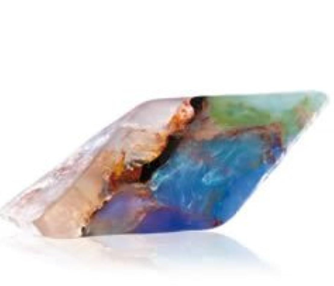 削除する太陽なすSavons Gemme サボンジェム 世界で一番美しい宝石石鹸 フレグランスソープ ブラックオパール 170g