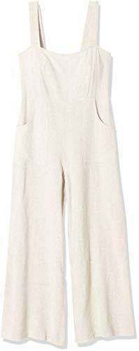 Rachel Pally Women's Linen Alda Jumpsuit, Natural, Small