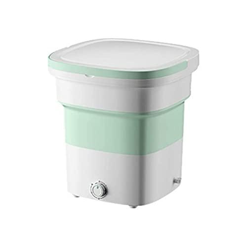 SHUILV Mini Lavadora Lavadora Plegable Mini Dormitorio Mini Dormitorio Lavado automático Calcetines de Ropa Interior