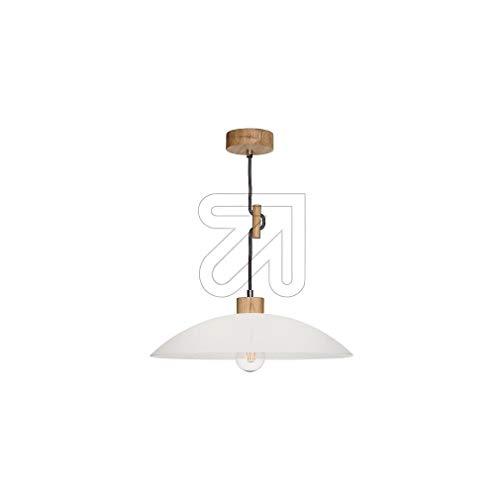 Unbekannt 9829631165 Jona - Lámpara de techo (madera de roble barnizada)