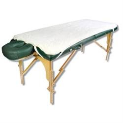 Fleece Massage Table Pads by NRG - Hypoallergenic Synthetic Fleece Fibers - Perfect for Anyone with Wool Allergies - 29