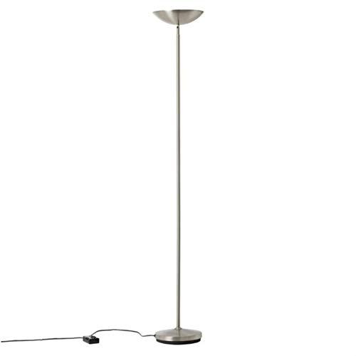 GUERNESEY-Lámpara de pie inclinable con regulador de intensidad de metal, altura 175...