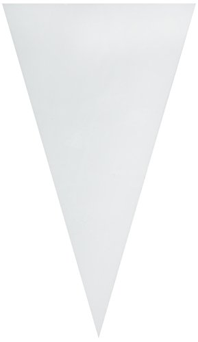 Weetiee Pastry Piping Bags - 16 Inch Disposable Cake Decorating Bags Anti-Burst Cupcake Icing Bags for all Size Tips Couplers and Baking Cookies Candy Supplies Kits -50 Pack.