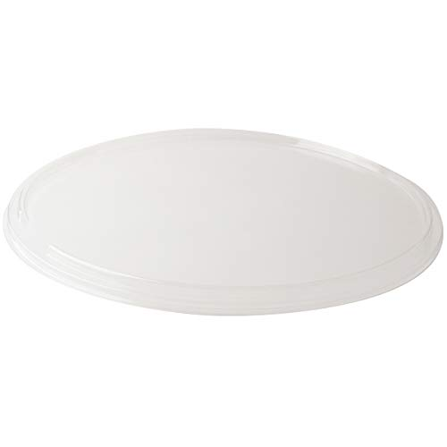 SOLUT! 00074 15' Flat PET Lid for 15' Take and Bake Pizza Tray, Plastic, Clear (Pack of 75)