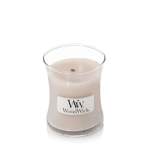 Woodwick Duftkerze im Glas, Duft: Smoked Jasmin, klein