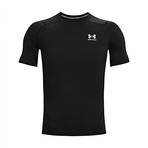 Under Armour HG Armour Comp Camisa Black XL