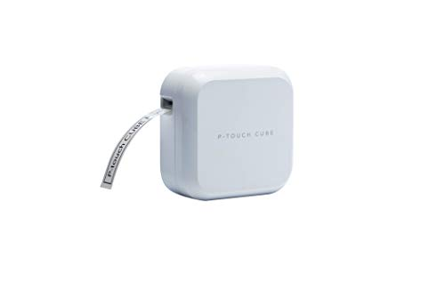 Brother P-touch CUBE Plus Beschriftungsgerät (für 3,5 bis 24 mm breite TZe-Schriftbänder, USB- und Bluetooth-Schnittstelle)