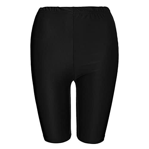 1/2 Leggins Push Up Mujer Cortos Cómodos Yoga Fitness Color sólido Mallas Running Mujer Cintura Media Transpirables Ropa Deporte Mujer