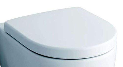 Keramag 574120000 WC-Sitz iCon, mit Deckel Scharniere: Metall, weiß - 2