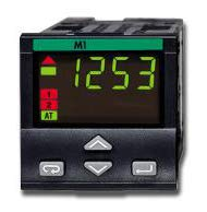 M130070000 | M1-3007-0000 | ASCON Temperature Controller, 1/16 DIN, 100-240VAC, Relay Output, Transmitter PS + RETRANSMISSION