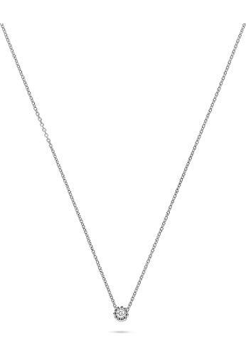 CHRIST Diamonds Damen-Kette 375er Weißgold 1 Diamant One Size 87328937