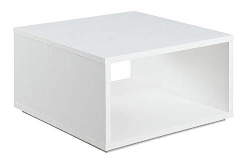 Convenience Concepts Northfield Admiral Square Coffee Table, White