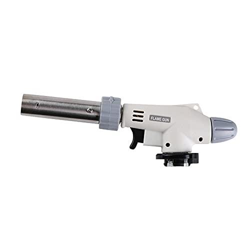 Antorcha reversible lanzallamas quemador de gas butano encendedor de coche encendedor de cocina soldadura barbacoa antorcha herramienta de cocina al aire libre (sin incluir combustible de butano)