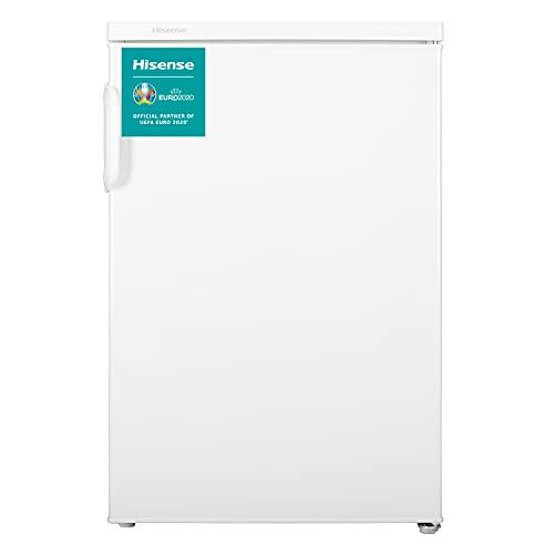 HISENSE RL170D4AWE - Frigorífico de una puerta reversible, con 138 L de Capacidad, despensa vertical en color Blanco