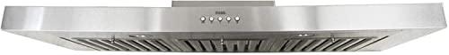 Brillia 30-inch Under Cabinet, 3-Speed, 750 CFM, LED Lights, Baffle Filters- 1 Pack