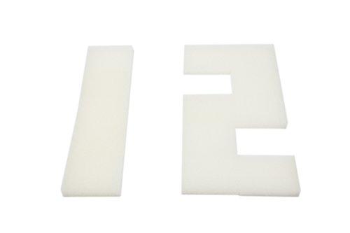 LTWHOME Compatible en Mousse Filtration Convient pour Interprété PF2 Interne Filtres(Paquet de 12)