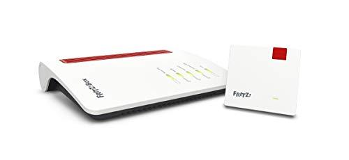 AVM Fritz!Mesh Set International (Fritz!Box 7530 und Fritz!Repeater 1200, Dual-WLAN AC bis 866 MBit/s (5 GHz) und N bis 400 MBit/s (2,4 GHz), bis 300 Mbit/s durch VDSL-Supervectoring 35b)