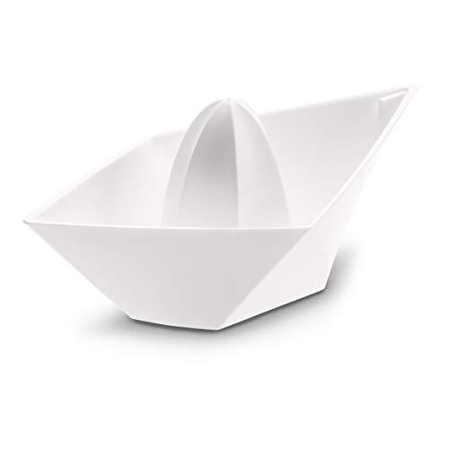 koziol Zitruspresse Ahoi , Kunststoff, weiß, 10 x 20 x 8,37 cm
