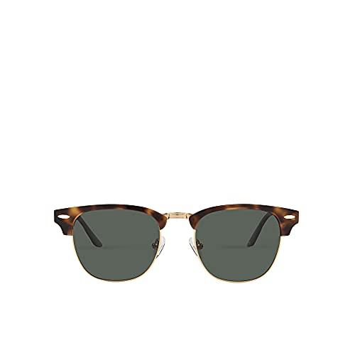 MO Gafas De Sol Polarizadas Sun Rx 231M B De Hombre Y Mujer. Gafas Cuadradas De Color Carey Y Dorado