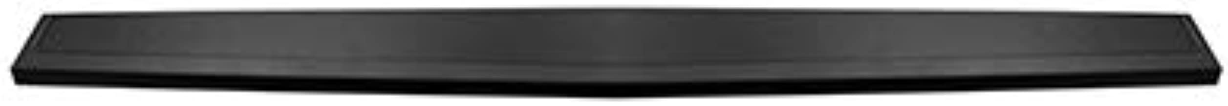 New Upper Tailgate Molding For 2014-2018 GMC Sierra Denali and Chevrolet Silverado 1500, Textured Black, Made of Plastic GM1904110 191275058589