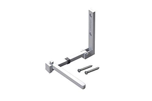Scheffinger V77 Türriegel aus 100{d49458b2f4608aaff366c41d6b1020f48c324db72795c3a67c376b7bae2782d6} hochwertigem Stahl, Überfallschutz für Wohnungstüren, gefertigt in Deutschland