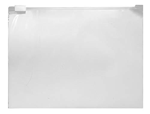 WeltiesSmartTools Gleitverschlussbeutel 60µ 250x170mm 50 Stück Zip Beutel wiederverschließbar mit praktischem Schieber Handgepäck-Flüssigkeiten-Beutel