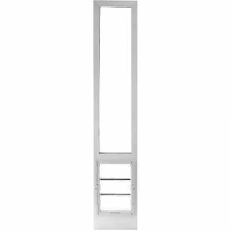 "Vinyl Insulated Pet Patio Door 78"" Medium"