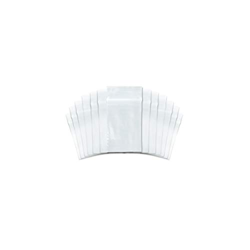 SNL Quality Zip Lock Reclosable Clear Disposable Plastic Bags, Strong | 2' X 3' - 2 MIL - 1,000 Bags