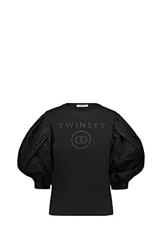 TWIN SET COLLEZIONE 211TT2513 00006 Nero Twin Set Blusa Donna S