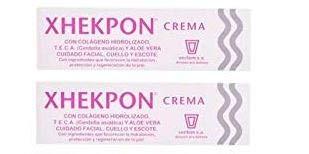 Xhekpon - Crema para el cuidado facial (2 x 40 ml)