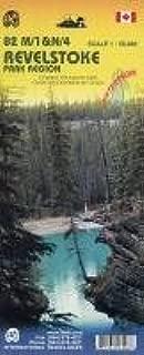 Revelstoke Park (Canada, BC) 1:50,000 Hiking Map