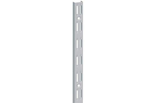 Home System Cremagliera Doppia, Alluminio, 200 cm