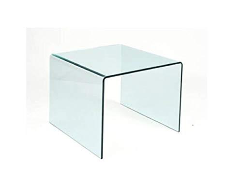 Mesas Auxiliares De Cristal Rectangular mesas auxiliares de cristal  Marca Grupo SDM