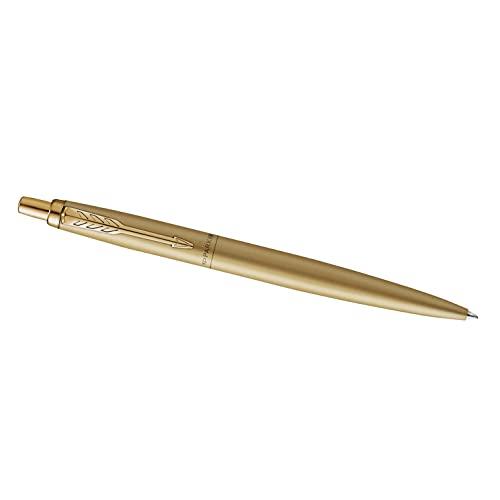 Parker Jotter penna a sfera XL | oro vanta monochrome | punta media | inchiostro blu | confezione regalo