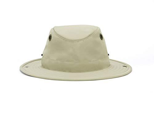 Tilley Sombrero de paddler para hombre y mujer TWS1 de ala ancha para protección solar - beige - 7 3/8
